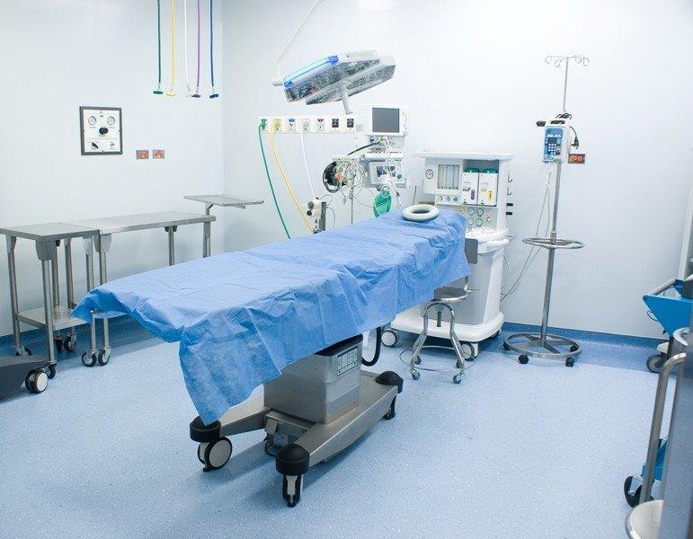 Piso condutivo para centro cirúrgico