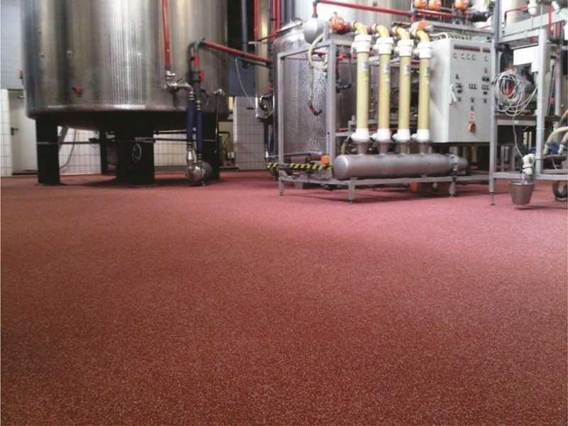 Fábrica de piso industrial