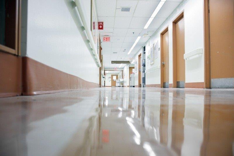 Piso para ambiente hospitalar