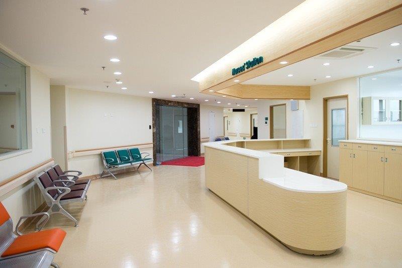 Piso para clínicas e hospitais