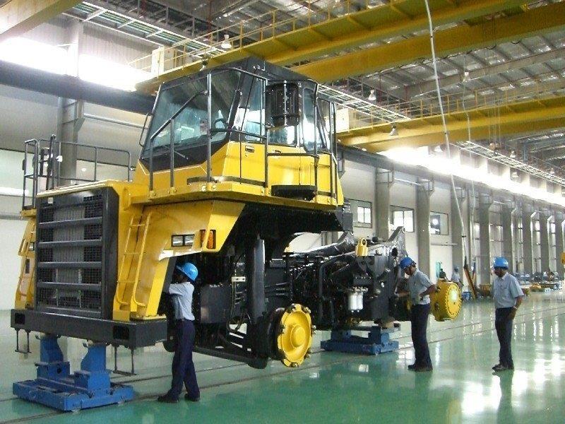 Piso industrial de alta resistência