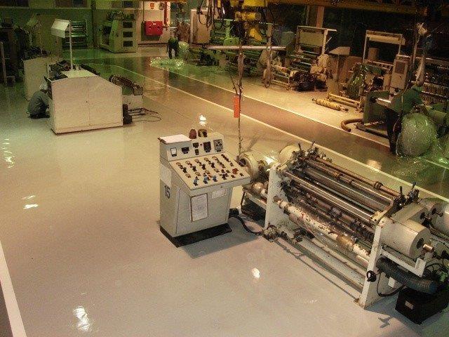 Piso industrial monolítico