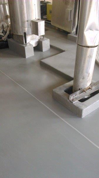 Resina para piso industrial